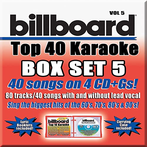 Billboard Top 40 Vol. 5 G 40+40-Song Party Pack