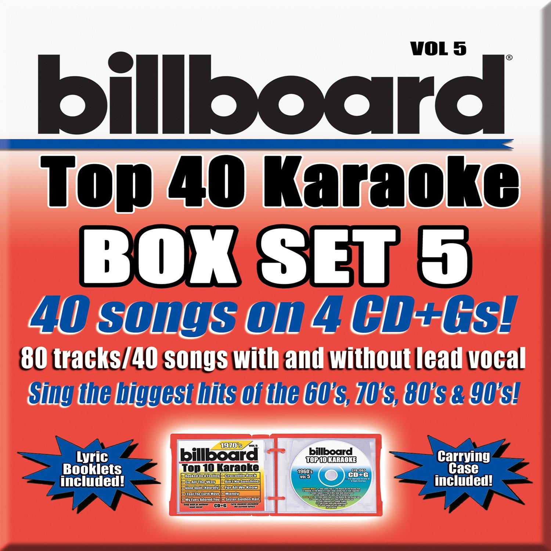 Billboard Top 40 Karaoke Box Set Vol. 5 [4 CD+G][40+40-Song Party Pack]