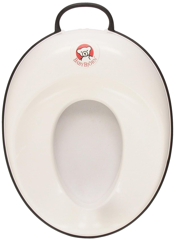 BabyBjorn Toilet Trainer, White/Black 058028CA
