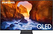 Samsung QN82Q90RAFXZA Flat 82-Inch QLED 4K Q90 Series Ultra HD Smart TV with HDR and Alexa Compatibility (2019 Model)