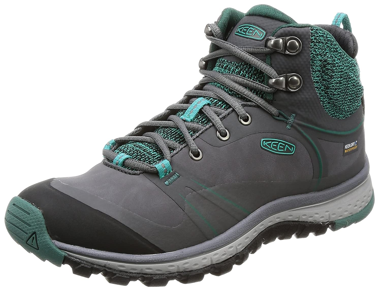 KEEN Women's Terradora Pulse Mid WP-W Hiking Boot B01N53V1W1 9.5 B(M) US|Magnet/Baltic