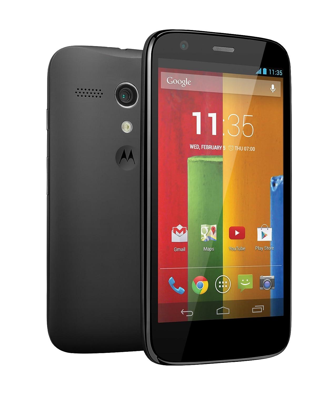 Electronic Motorola Android Smart Phone amazon com new google motorola 8gb moto g xt1032 black factory unlocked android 3g 2g gsm mobile phone quad band 850