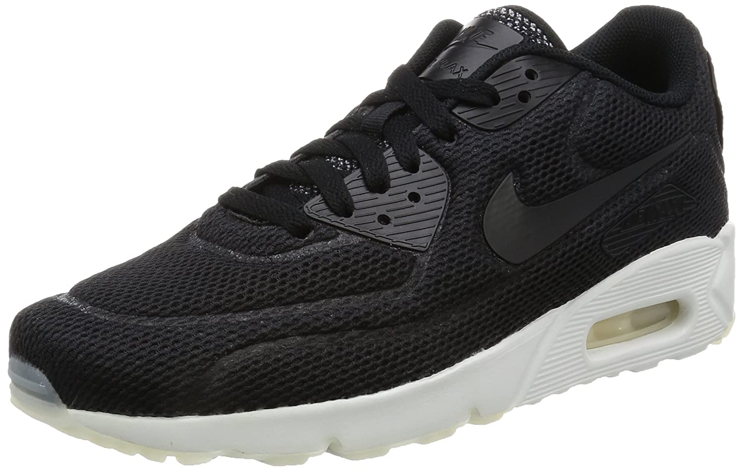 Nike Herren Air Max 90 Ultra 20 BR  42 EU|Schwarz (Black/Summit White)