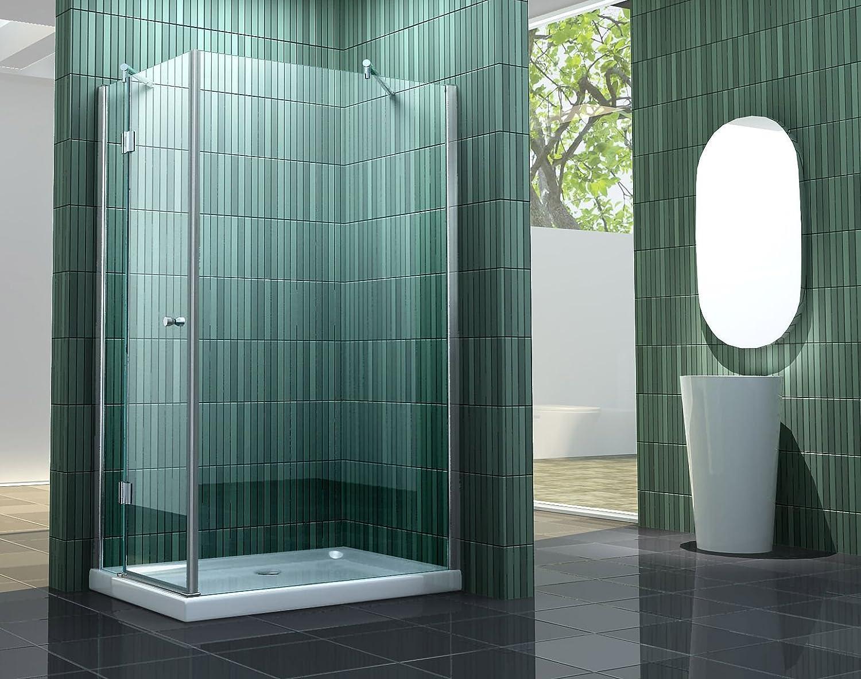 Mampara de ducha incluye SILL-S 120 x 80 cm: Amazon.es: Bricolaje y herramientas