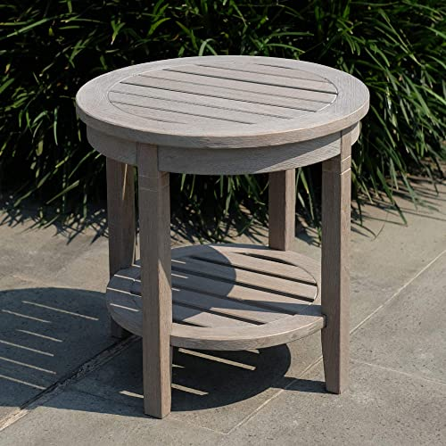 Cambridge-Casual AMZ-180670T-GY Arie Side Table