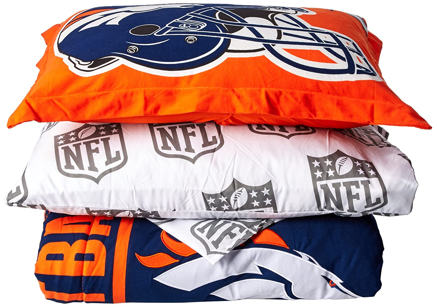 The Northwest Company Northwest Broncos Soft & Cozy Twin Comforter Set