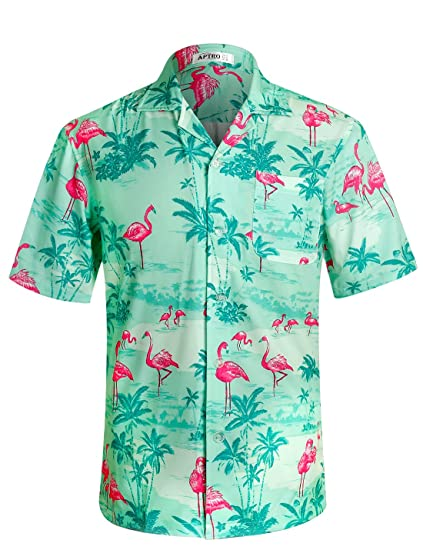Joe Wenko Mens Pocket Turn Down Long Sleeve Tops Wedding Button Front Shirts