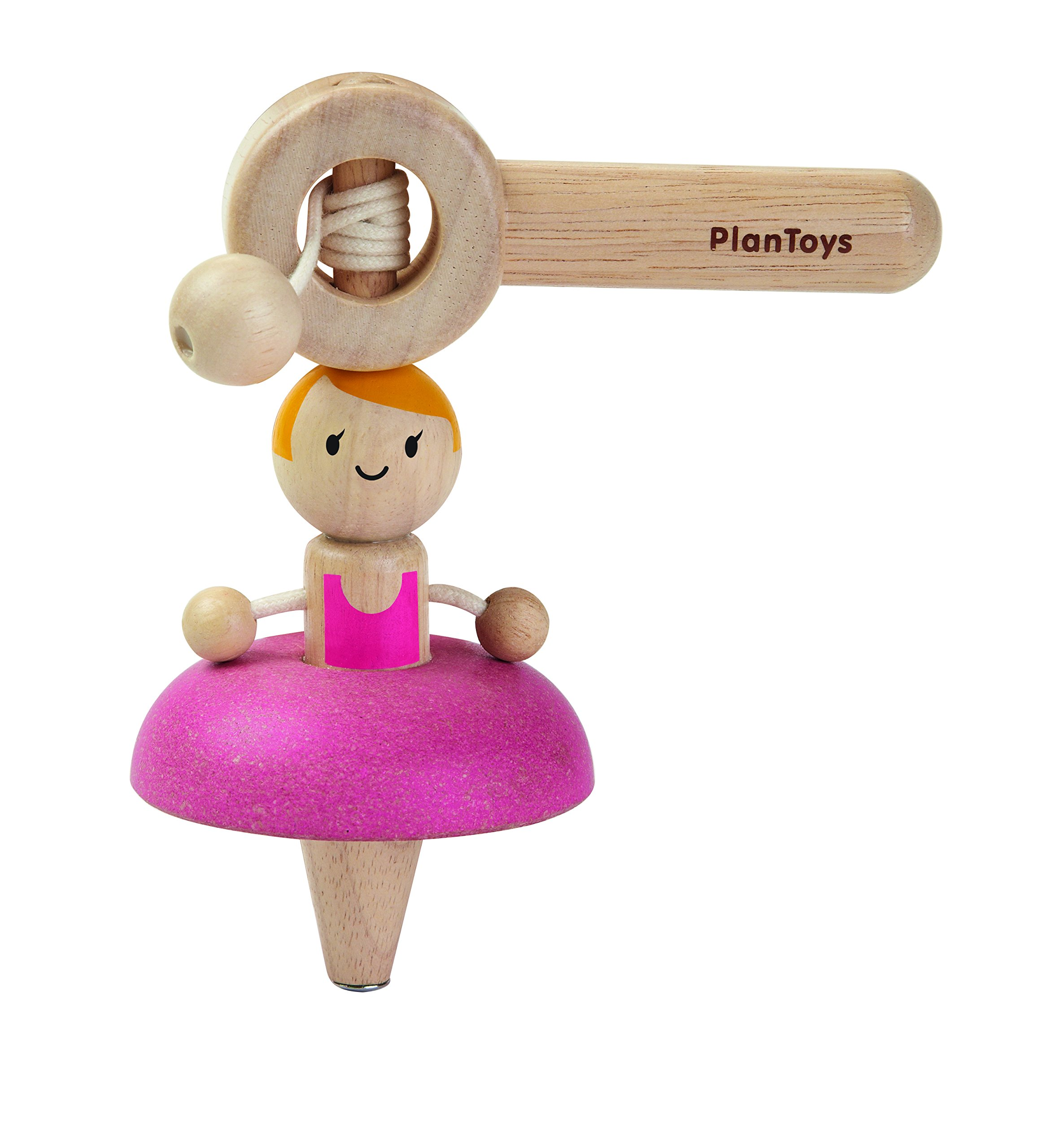 PlanToys Wood Ballet Spinning Top