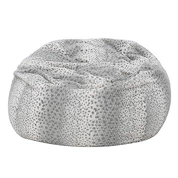 Amazon.com: Puf de metal pesado con relleno de espuma ...