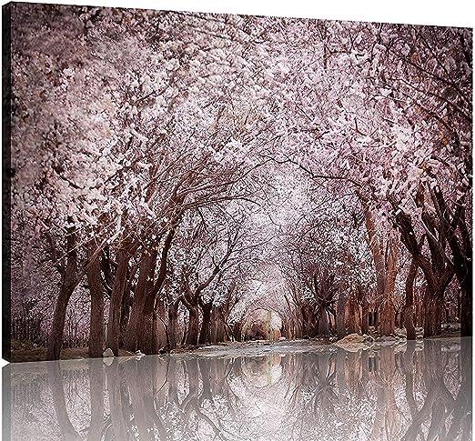 Amazon Com Nan Wind 1 Piece Modern Cherry Blossom Trees Large