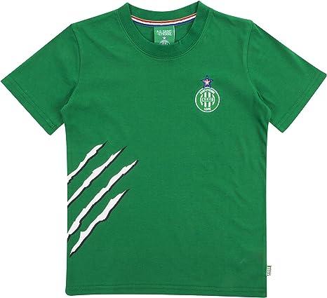 AS Saint Etienne - Camiseta Oficial para niño, Niños, Verde, 4 años: Amazon.es: Deportes y aire libre