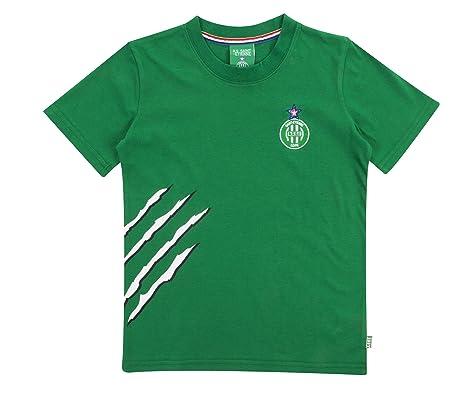 AS Saint Etienne - Camiseta Oficial para niño, Niños, Verde, 4 ...