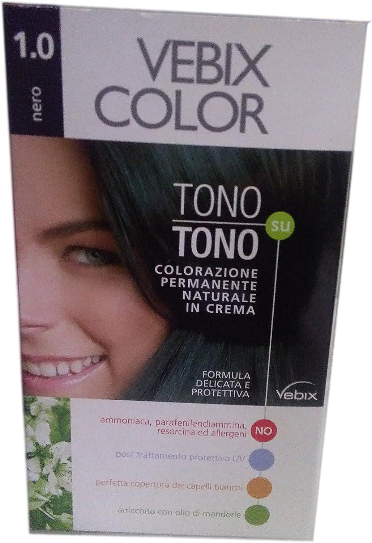 Vebix color 1.0 Negro Tono Sobre tono: Amazon.es: Belleza