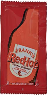 product image for Frank's RedHot Original Cayenne Pepper Sauce Packets, 200 count