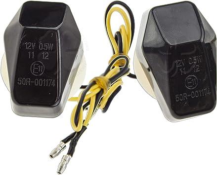 2x Double Side LED Turn Signal Light Indicators V-Strom 650 1000 SV SFV GSF