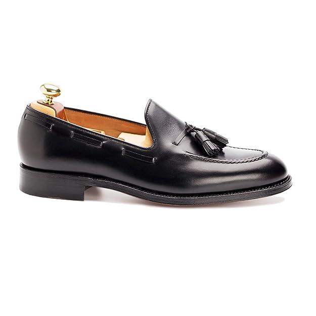 Yanko - Chester boxcalf para hombre, talla 46, color negro: Amazon.es: Zapatos y complementos