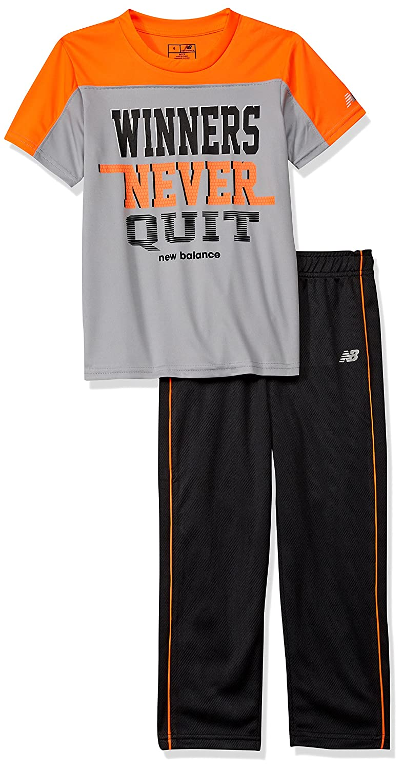 New Balance Boys' Athletic Tee and Pant Set 12510