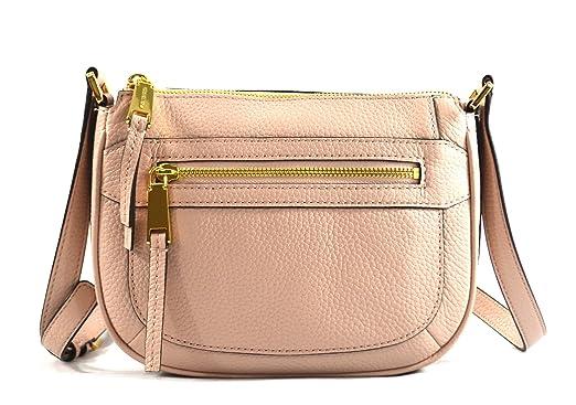 1562fa8cefe7 Michael Kors Julia Medium Messenger (Ballet)  Handbags  Amazon.com