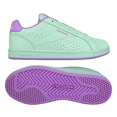 Reebok BS6155, Zapatillas de Tenis para Niñas, Blanco (White/Solar Pink), 37 EU: Amazon.es: Zapatos y complementos