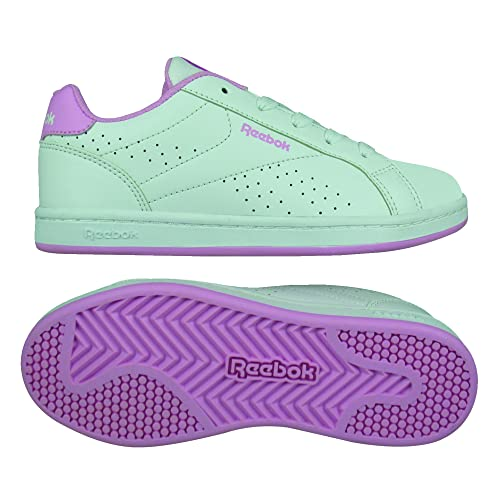 Reebok BS6155, Zapatillas de Tenis para Niñas, Blanco (White/Solar Pink)