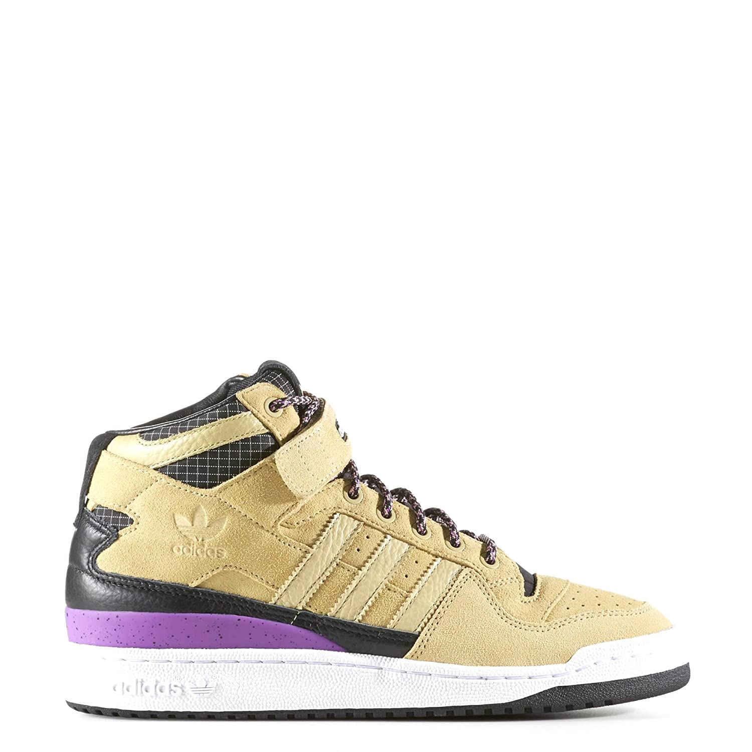 adidas Men's Forum MID Refined Sand/Black/White F37834