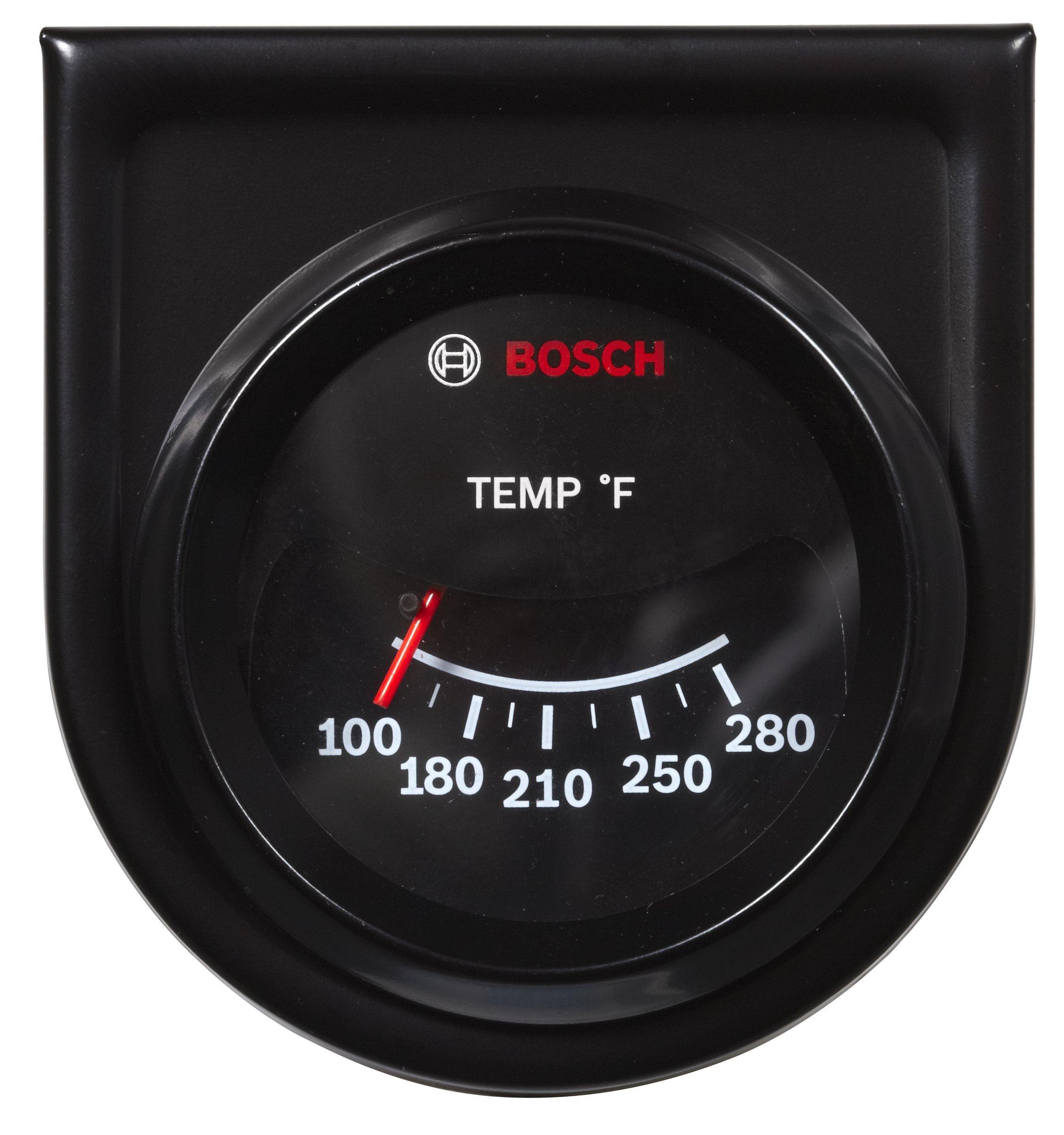 Bosch SP0F000034 Custom Line 2'' Mechanical Water/Oil Temperature Gauge by Bosch Automotive