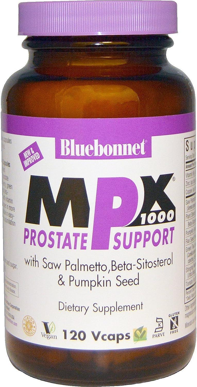Bluebonnet Nutrition, Mpx 1000 Men Prostate Formula, 120 Veggie Capsules
