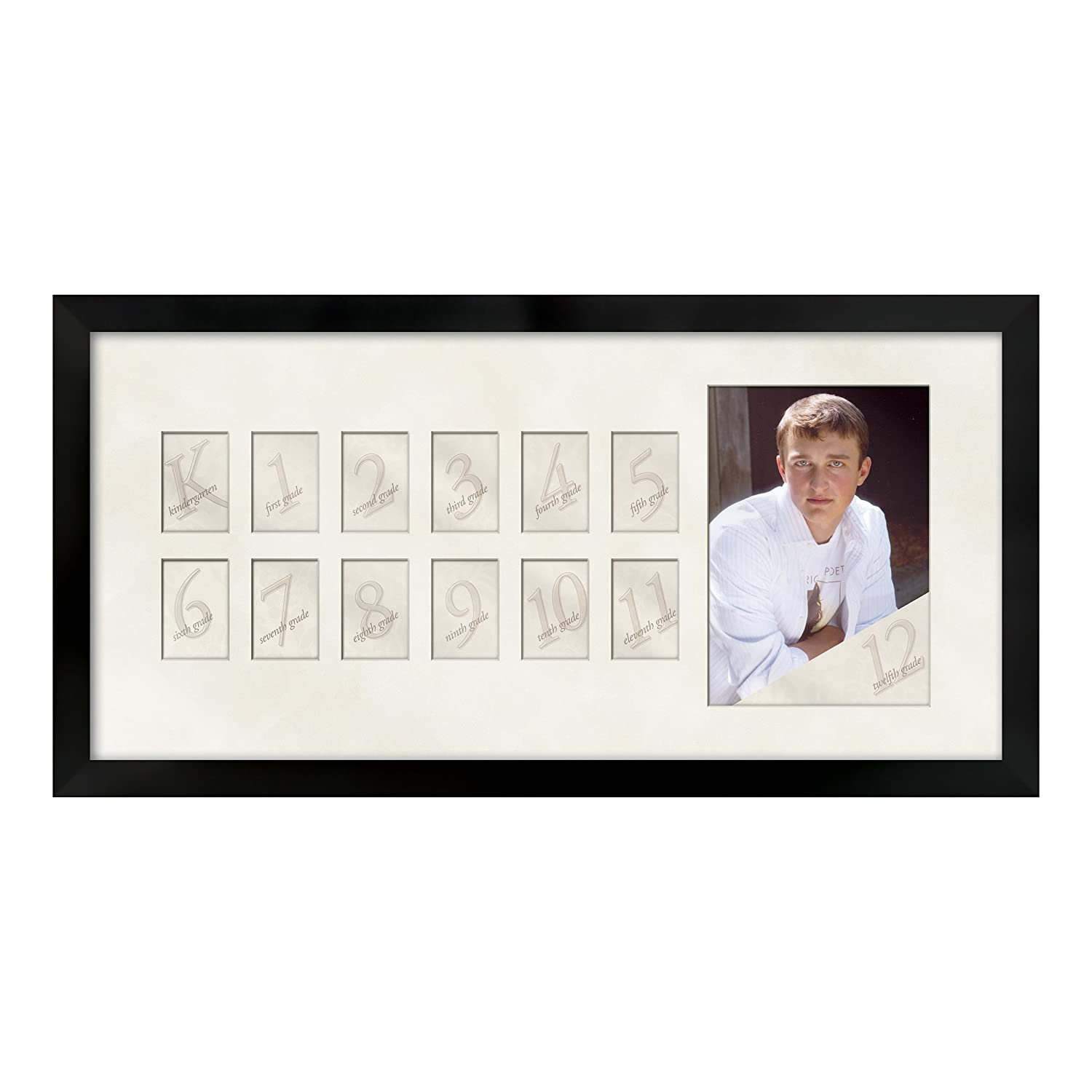 Amazoncom Prinz Collage Picture Day Wood Frame Black