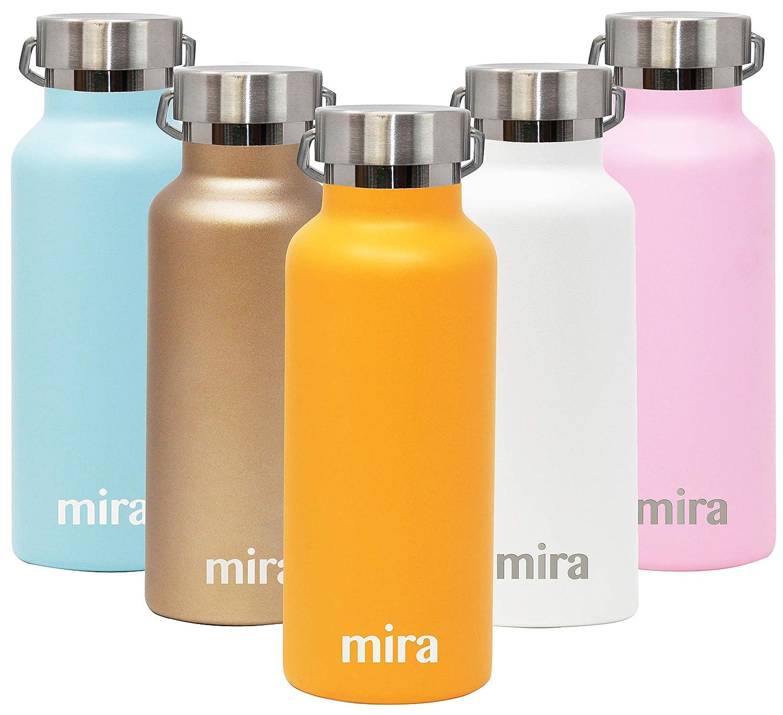 MIRA Alpine - Botella de Agua aislada al vacío de Acero ...