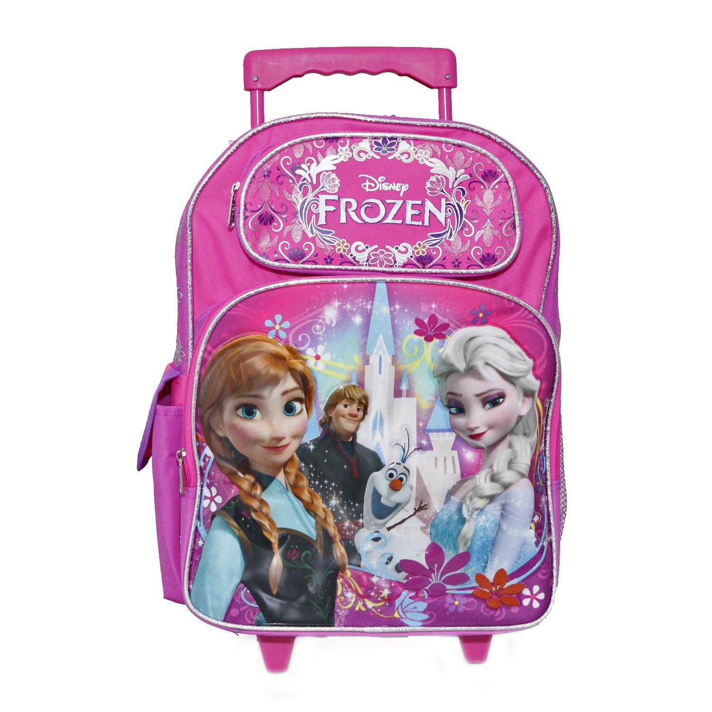 Ruz Disney Frozen Roller Backpack Bag - Not Machine Specific by Ruz