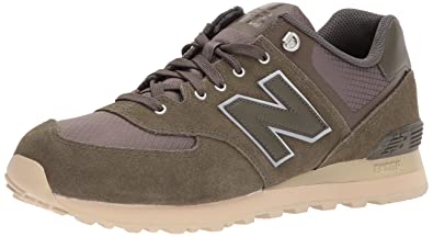 New Balance 574, Baskets Homme, Multicolore (Chocolate Cherry), 42.5 EU