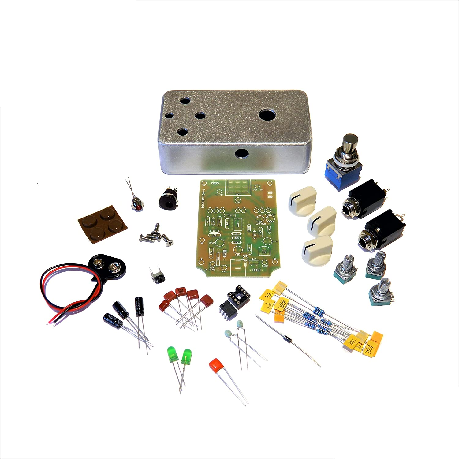 Amazon.com: R-Stomp DIY Distortion-1 Guitar Pedal Kit: Musical Instruments