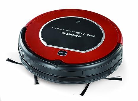 Ariete Pro Evolution Sin bolsa 0.3L Negro, Rojo aspiradora robotizada - Aspiradoras robotizadas (