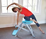 Life's A Beach Pilates PRO Chair with 4 DVDs by