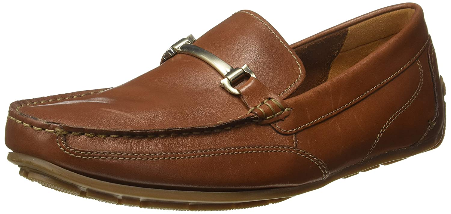 Dedicación Monumental duda  Buy Clarks Men's Benero Brace Tan Leather Tan Leather Loafers - 7 UK/India  (41 EU)(91261366537070) at Amazon.in