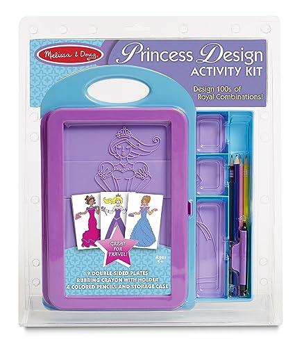 Melissa Doug Princess Design Activity Kit