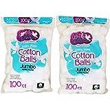 White Dove Cotton Balls, 100% Pure Cotton, 100 Ct