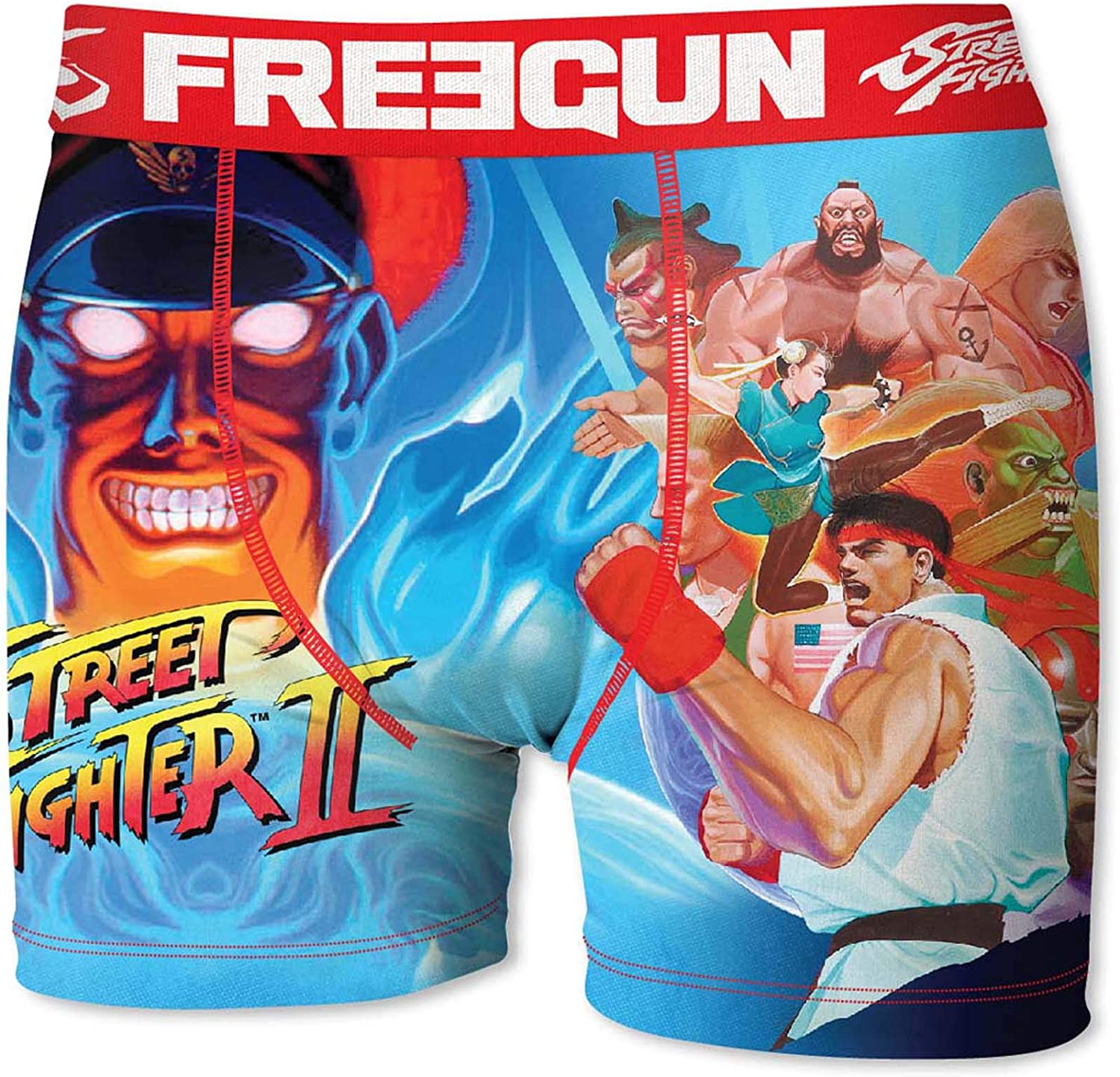 Sublimation Printing FREEGUN Set Boxers Briefs Street Fighter Man OR Boy