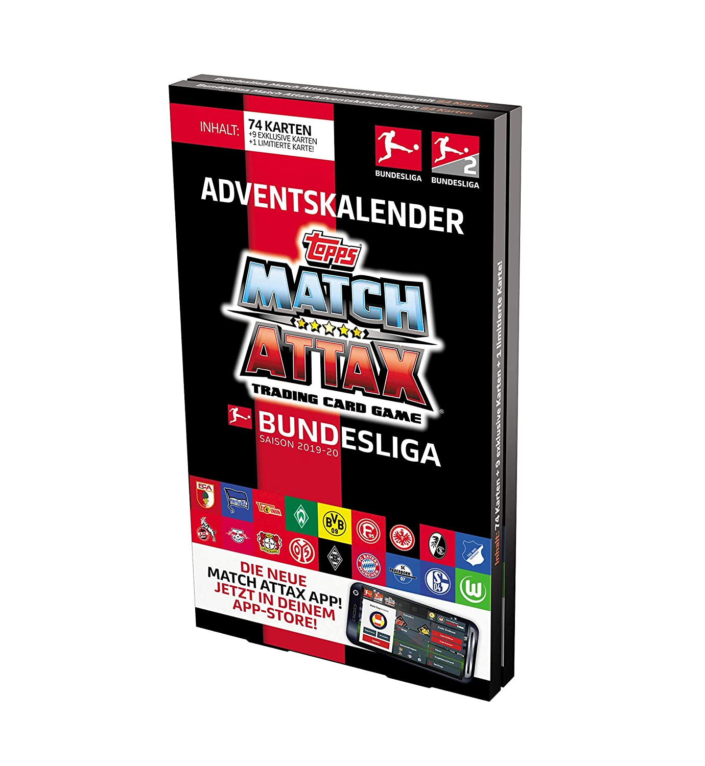 Bundesliga Match Attax 2019 20 Adventskalender Amazon De