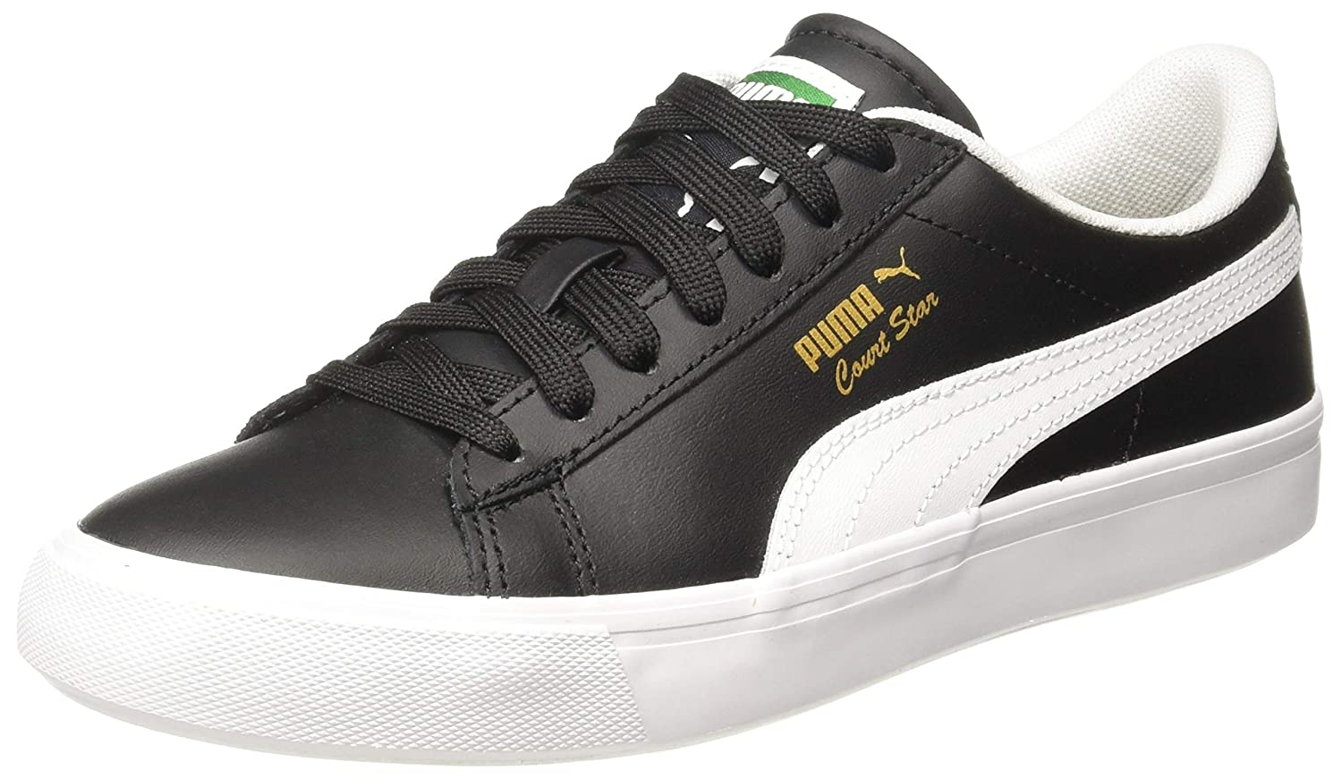 Puma Unisex's Court Star Vulc FS Leather Sneakers