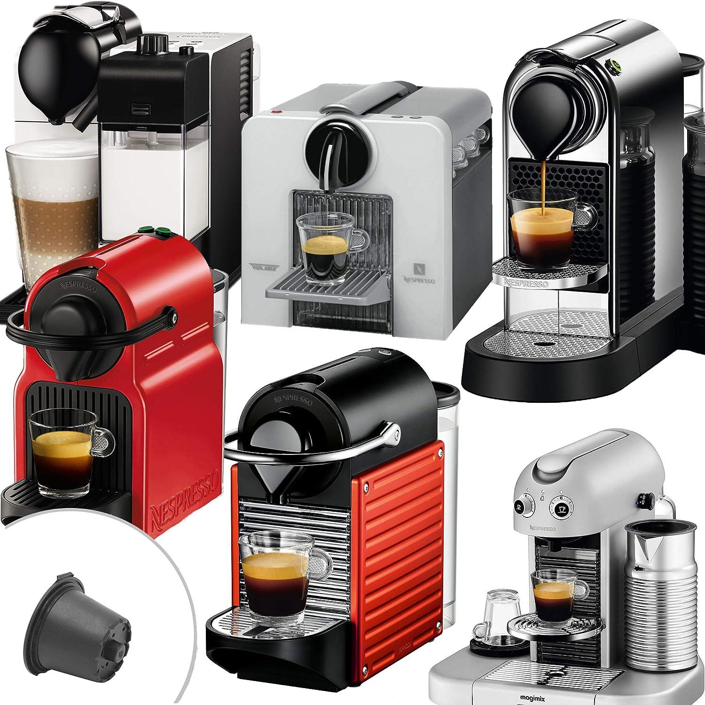 Nrp 3 Pack steel-lid cápsulas de café para cafetera Nespresso Eco ...