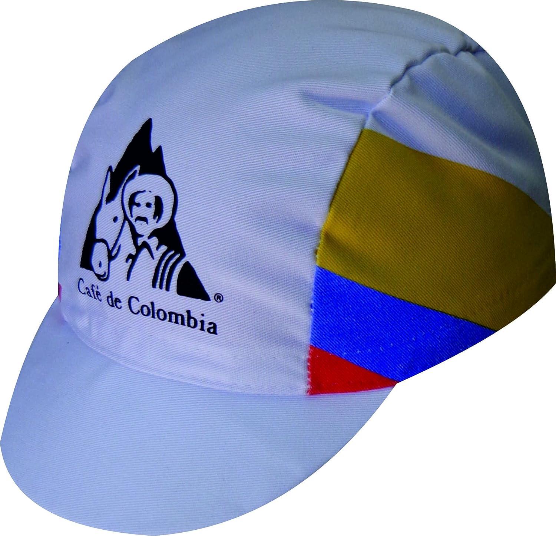 GORRA DE CICLISMO CAFE DE COLOMBIA: Amazon.es: Deportes y aire libre