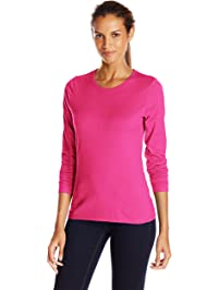 Hanes Womens Long Sleeve Tee Shirt
