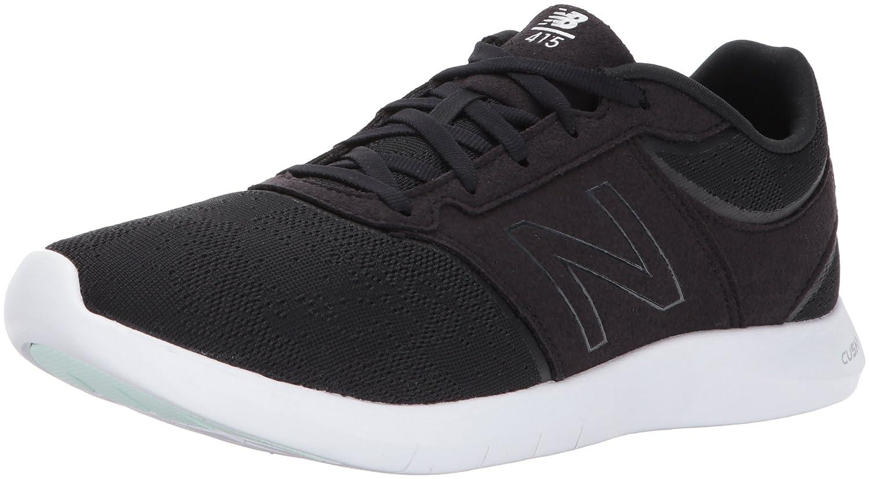 New Balance Women's 415v1 Walking Shoe B01N66I8TL 11 D US|Black/White