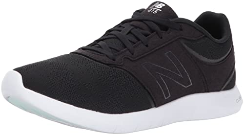 Nero 40.5 EU NEW BALANCE 415 SNEAKER DONNA BLACK/WHITE SEASONAL Scarpe