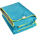 "Lightspeed Outdoors Sundown Camp Blanket, Ripstop, Synthetic Fluffy Down, Packable, 77"" x 55"""