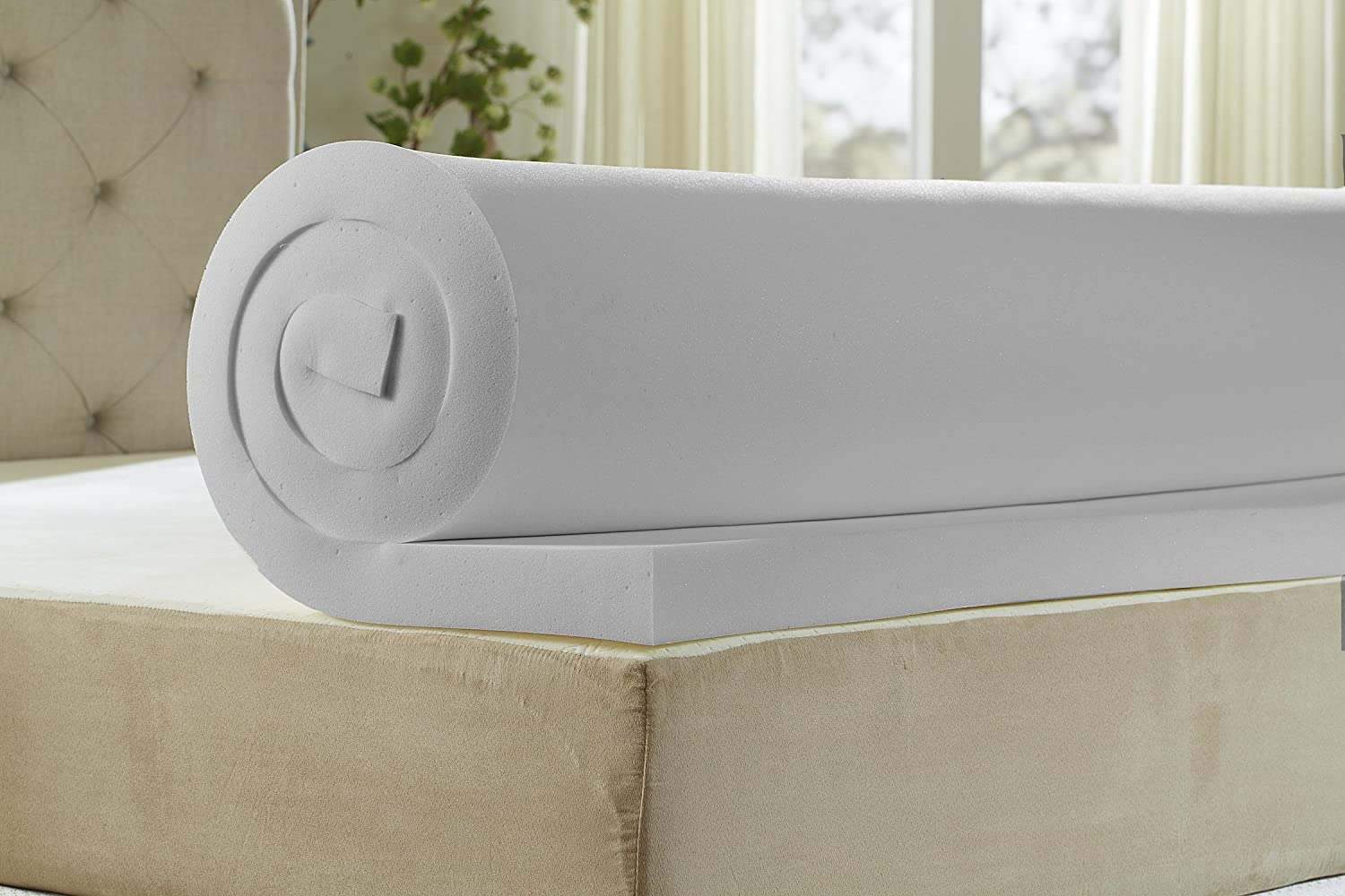 Natures Sleep 2.5 Inch Memory Foam Mattress Topper Review