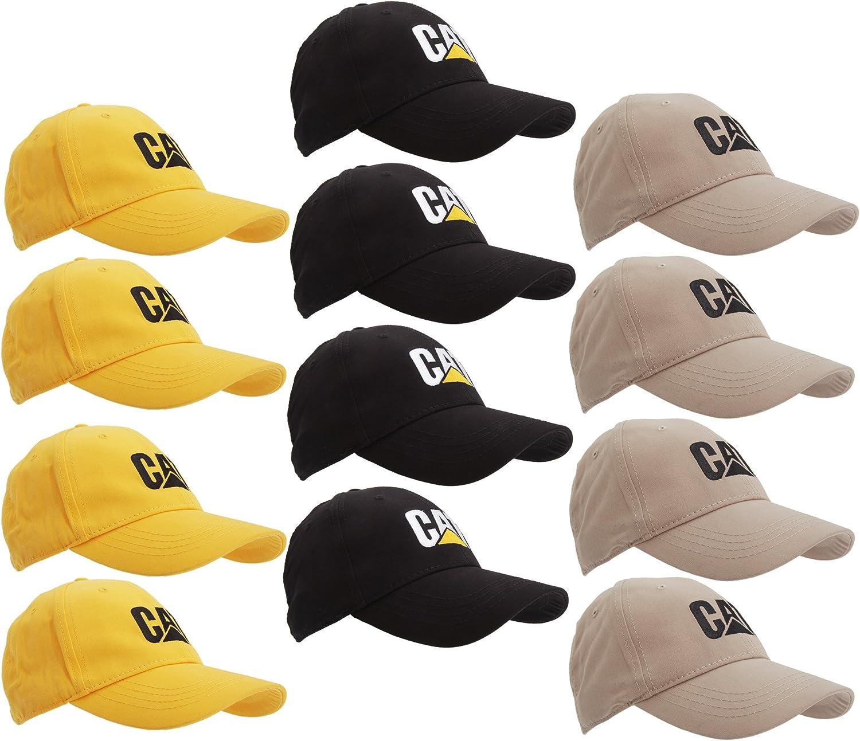 Caterpillar - Pack de 12 Gorras / Viseras Modelo C9010032 para ...