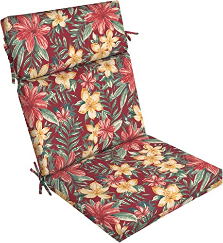 Arden Selections Ruby Clarissa Tropical Outdoor Chair Cushion