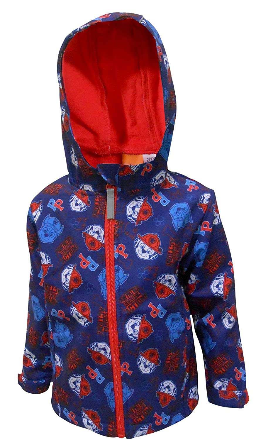 Boys Paw Patrol Hooded Jacket Kids Zipped Fleece Coat 724